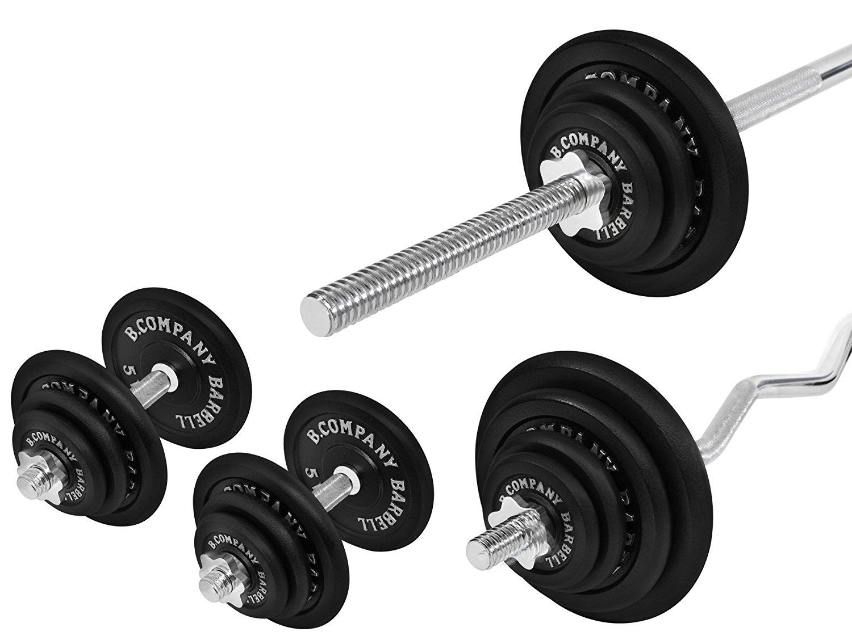 Garneck Hantelstange Hantelgriff Gewichtheben Spinlock Kragen Hantel Verbindungsstange f/ür Hantel Gewichtheben 11Cm