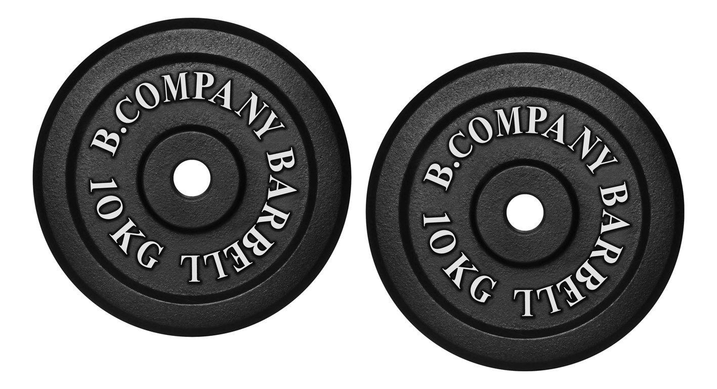 PAAR Hantelscheiben 30mm Hantel Gewichte Scheiben Gewichtsscheiben Muskelaufbau
